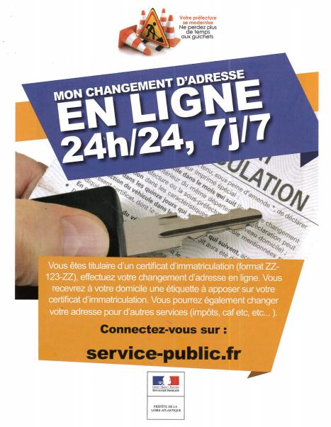 0b17fa22197 ... changement d adresse. Vous trouverez également des informations  concernant vos démarches sur le site gouvernemental   https   www.service- public.fr